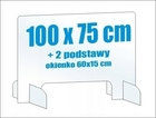 Osłona z plexi 5mm na biurko ladę pleksa 100x75cm (4)