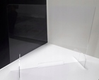 Osłona z plexi 4mm na ladę biurko pleksa 100x75cm (4)